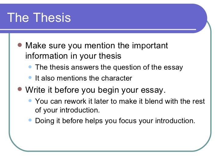 creating an essay question Writing a good research question create a list of potential questions for consideration and choose one that interests you and provides an opportunity for.