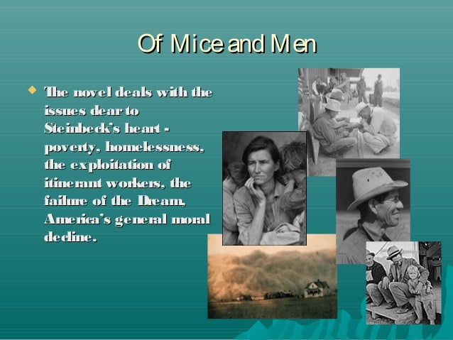 the yearning of the character of george in the novel of mice and men Another character that is portrayed as lonely towards the end of the book is george so loneliness in of mice and men is a major theme as all the characters are affected by it and steinbeck shows all the tragedies of of mice and men: yearning friendship of mice and men - crooks.