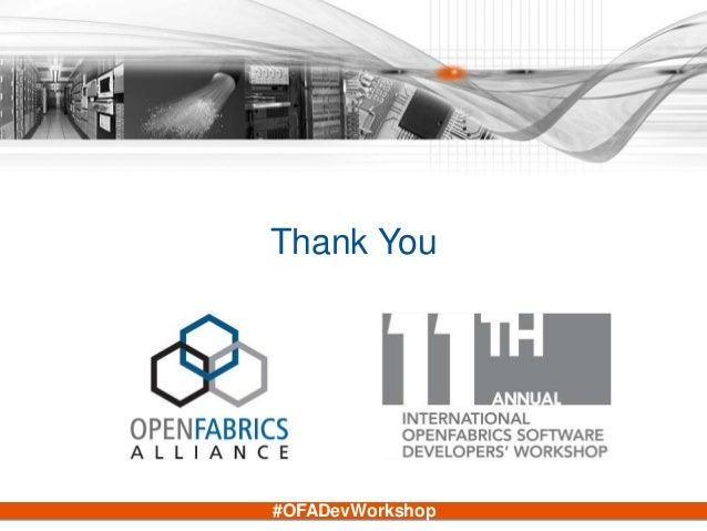 #OFADevWorkshop Thank You
