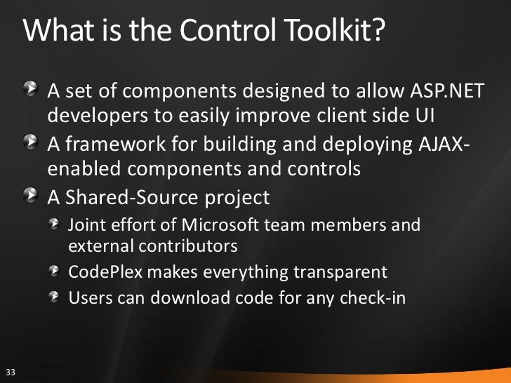 how to add ajax control toolkit in visual studio 2017