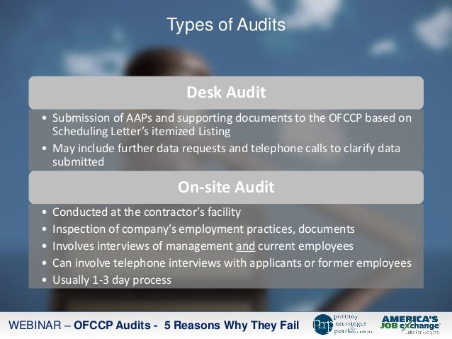 Ofccp Audits 5 Reasons They Fail