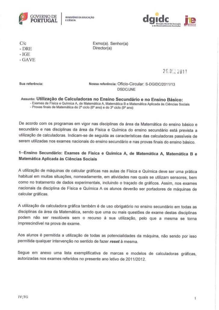Ofício circular s-dgidc-2011-13 (dsdc-jne)