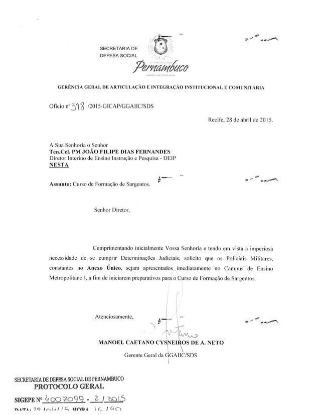 _  9 /  J . of .  ,a SECRETARIA DE à_  DEFESA SOCIAL V  ? grama/ Má GERÊNCIA GERAL DE ARTICULAÇÃO E INTEGRAÇÃO INSTITUCION...