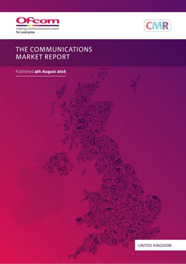 About this document The report contains statistics and analysis of the UK communications sector. It is a reference for ind...