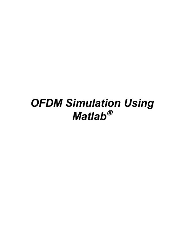 Ofdm sim-matlab-code-tutorial web for EE students