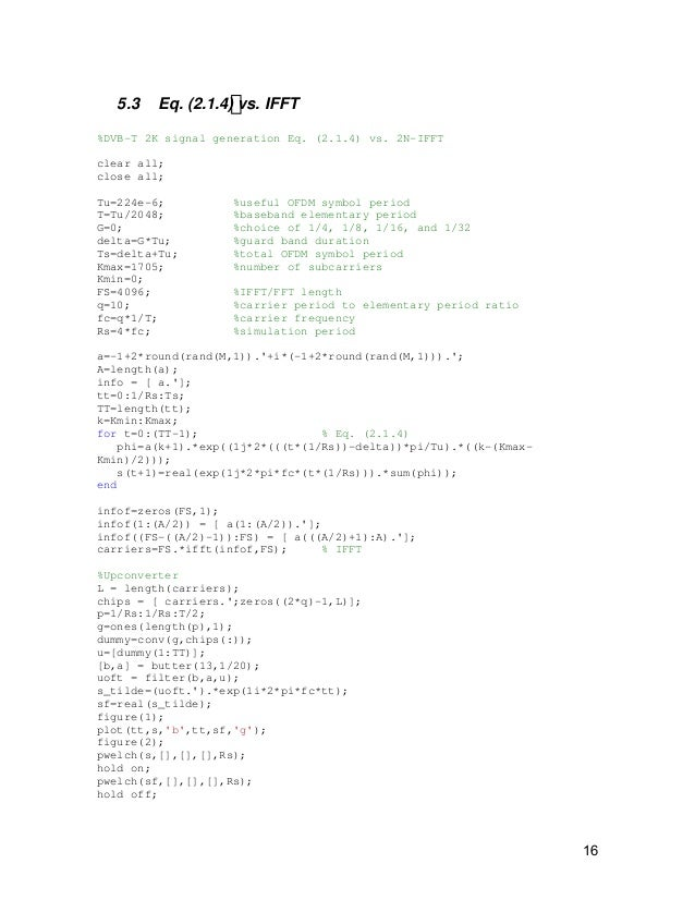 Ofdm sim-matlab-code-tutorial web for EE students