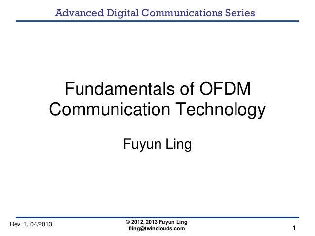 Ofdm thesis 2013