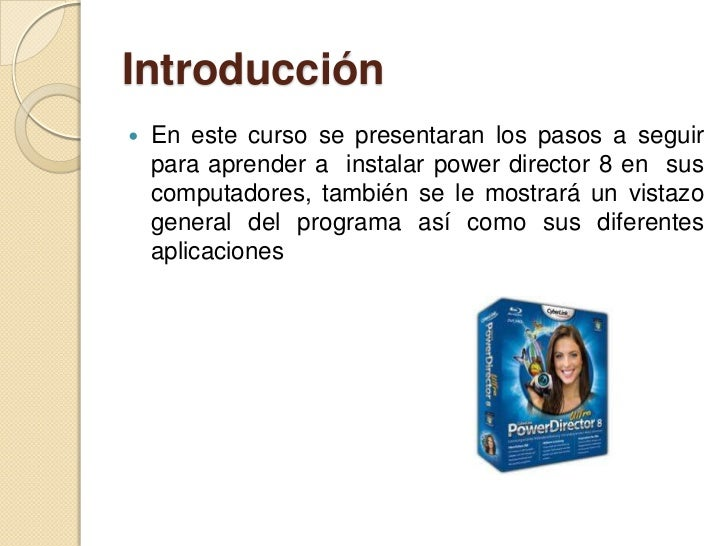Oferta academica power director Slide 2