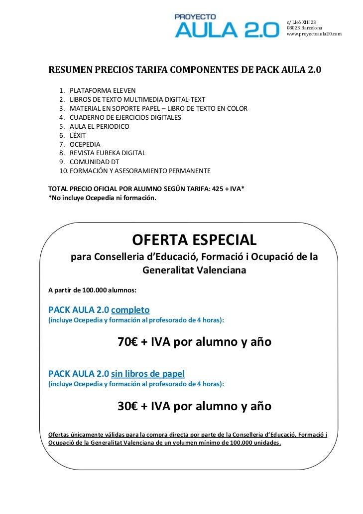 oferta conselleria de la comunitat valenciana diciembre2011 On aula virtual generalitat valenciana