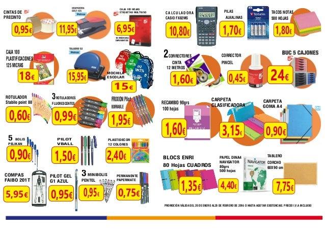 Ofertas papeleria y material de oficina for Material de oficina precios