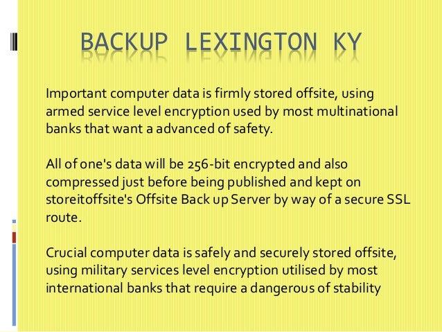 Off site backup lexington ky Slide 2