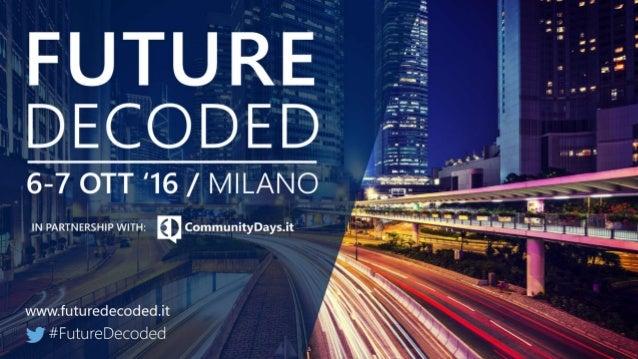 Introduzione a SharePoint 2016 Giuseppe Marchi Dev4Side S.r.l. info@peppedotnet.it @PeppeDotNet