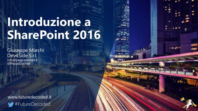 What's new in SharePoint 2016 Slide 2