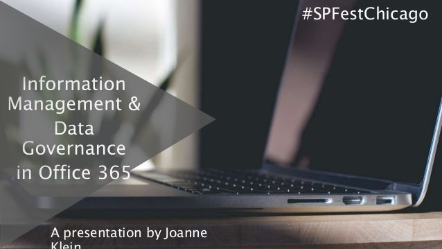 A presentation by Joanne #SPFestChicago