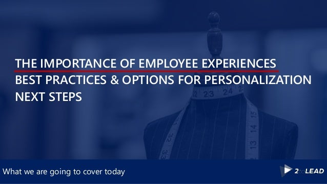 Personalizing & Improving Office 365 & Your Digital Workplace Slide 3