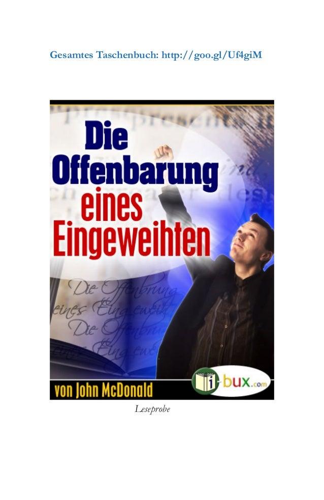 Leseprobe Gesamtes Taschenbuch: http://goo.gl/Uf4giM