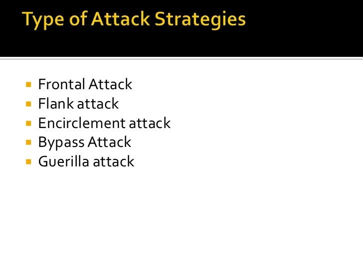 Offensive attack strategy Slide 2