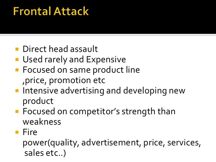 Offensive attack strategy Slide 3