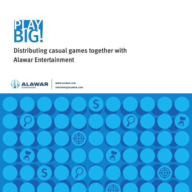 Distributing casual games together with Alawar Entertainment