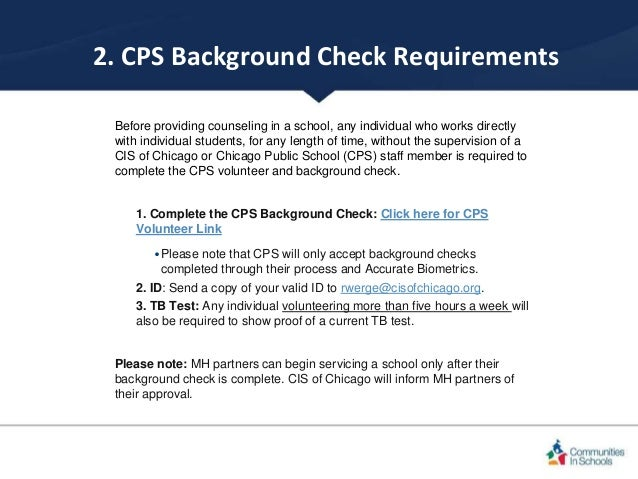 Offering counseling to cis of chicago schools