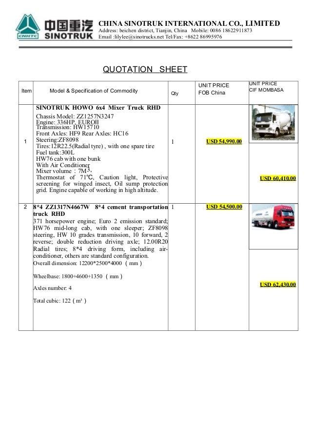 Sino Trucks in Uganda
