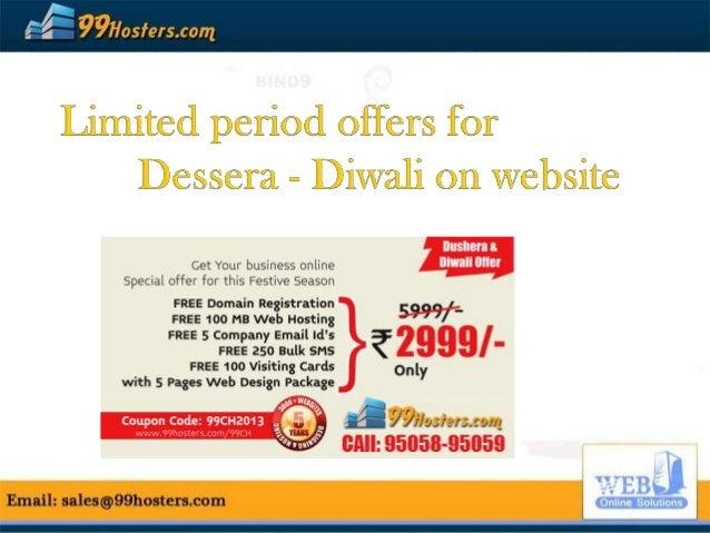 Best Festive Season Offer for website designing from