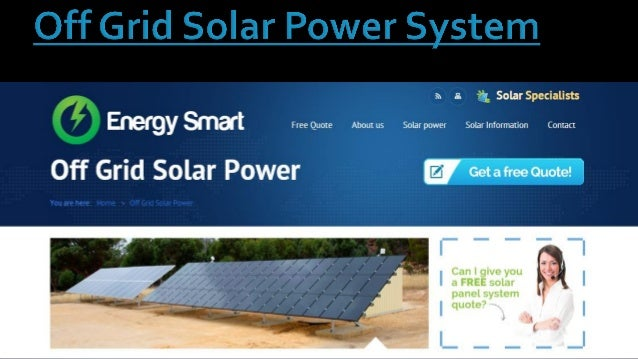 Presently the conditions and feasibility of smartphones within the solar as well as off grid community are growing, these ...