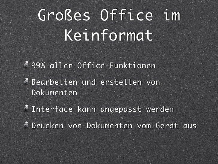SoftMaker Office Slide 2