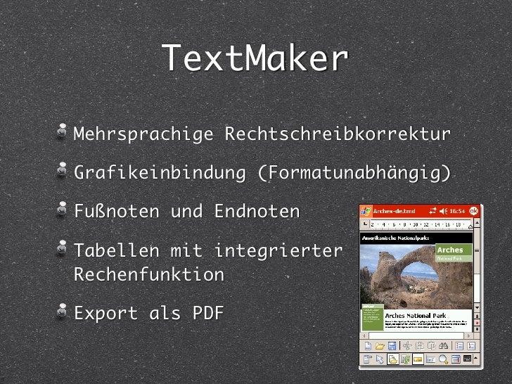 SoftMaker Office Slide 3
