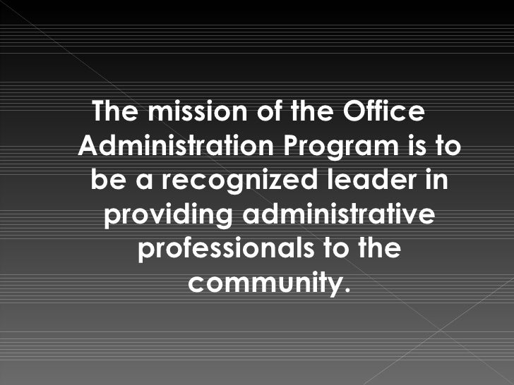 Office administration program - Office administration course ...