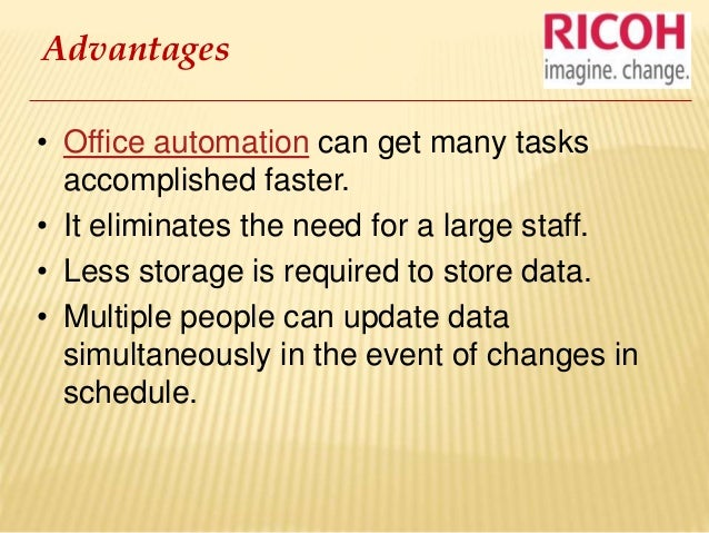 office automated system. office automation 3 automated system