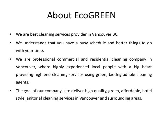 Office cleaning vancouver bc - house cleaning services in canada Slide 2