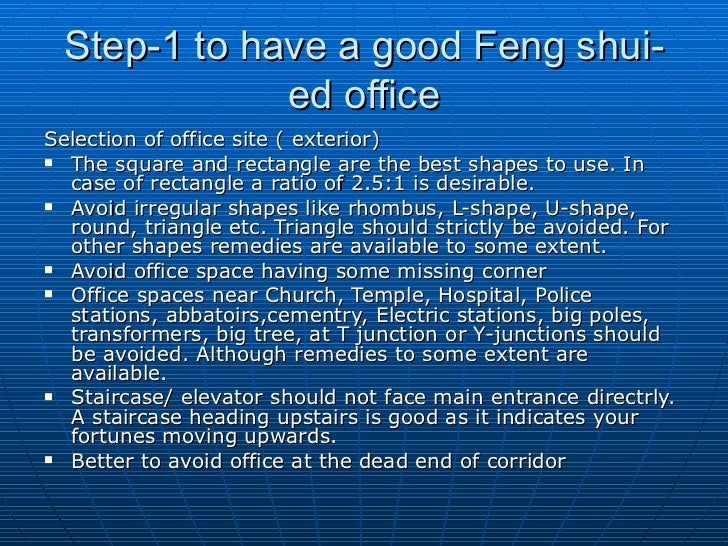 8 step1 to have a good feng shuied office shui desk placement d