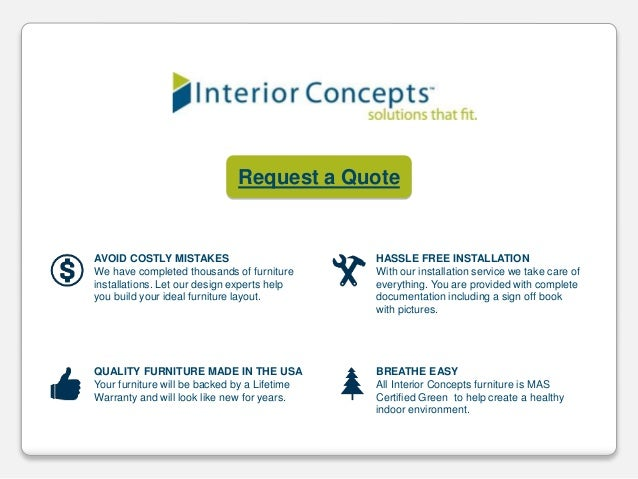 Office Layouts by Interior Concepts