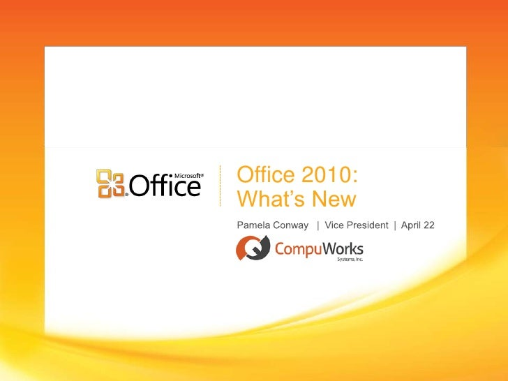 Office 2010: What's New