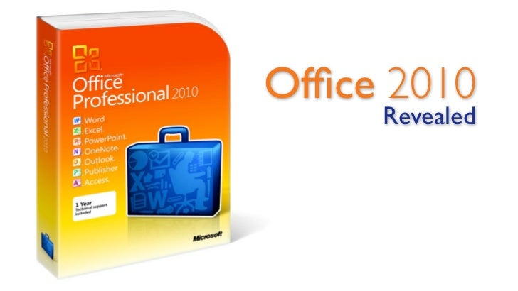 Office 2010      Revealed