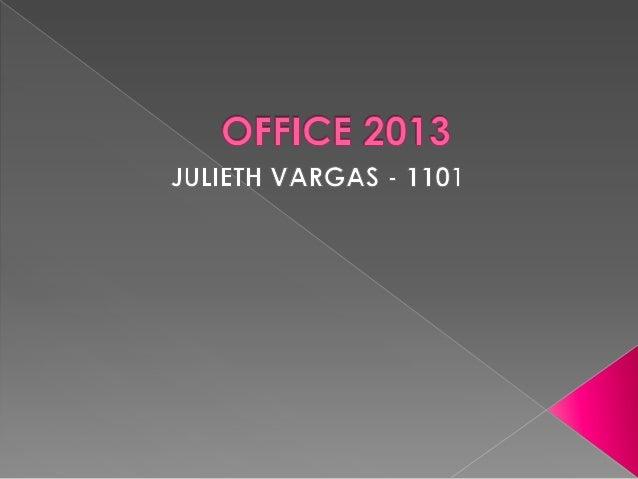  Es una versión de la suite ofimática para  el sistema operativo Windows de  Microsoft Office 2010. Nombre clave Office 15