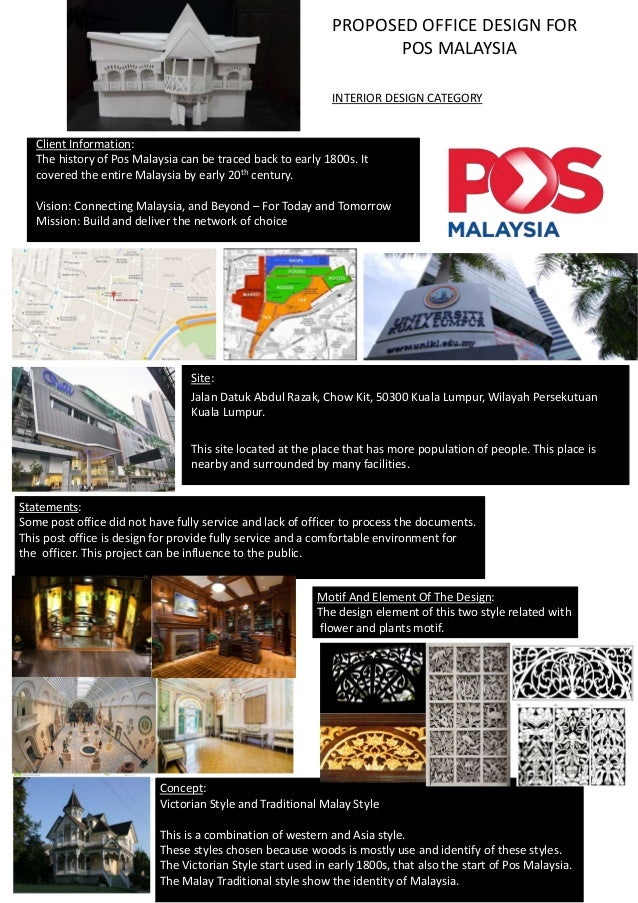 Client Information The History Of Pos Malaysia Can Be Traced Back To Early 1800s