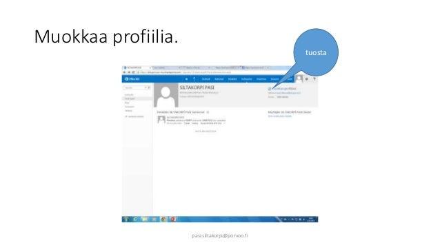 Muokkaa profiilia.  tuosta  pasi.siltakorpi@porvoo.fi