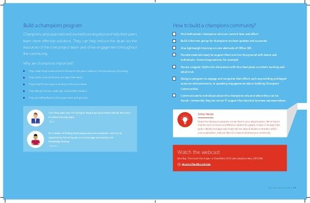 Microsoft Office 365 Adoption Guide