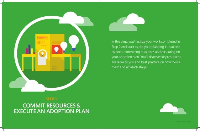 Office 365 Adoption 3 Steps to creating your own platform - induced info