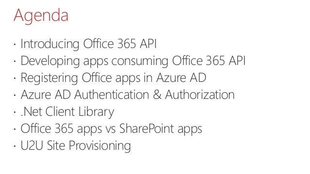 Office 365 api vs share point app model