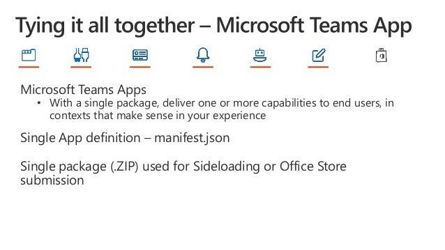 Office 365 Developer Bootcamp: Microsoft Teams