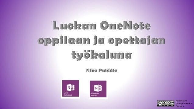 Nina Pukkila Kaukajärven koulu Tampere