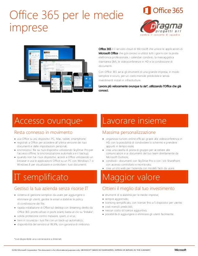 Office 365 per le medieimprese                                                                                           O...