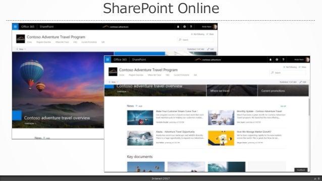 SharePoint Online Interact 2017 p. 8