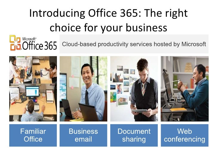 Introducing Office 365: The right    choice for your business