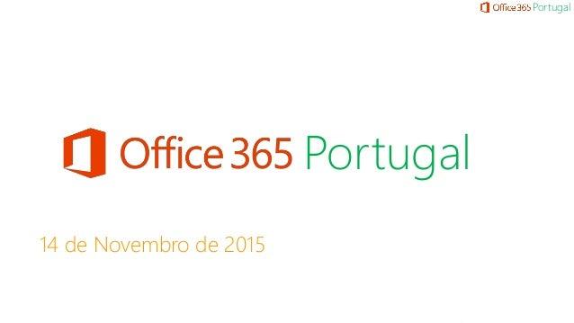 Portugal 14 de Novembro de 2015 Portugal