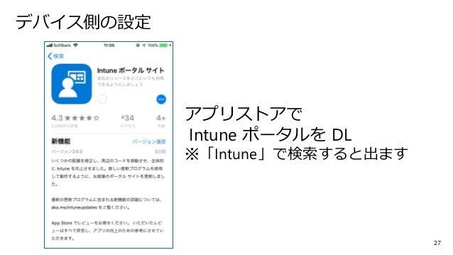 ポータル サイト intune