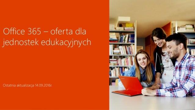 techdata.pl Office 365 – oferta dla jednostek edukacyjnych